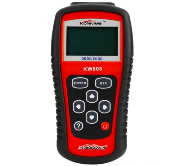 Портативный диагностический сканер Konnwei KW808