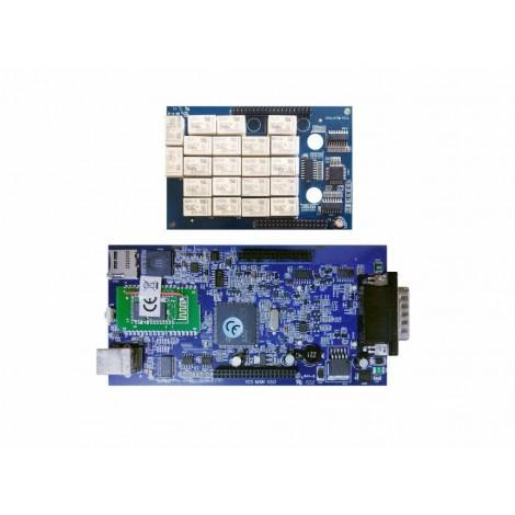 Мультимарочный сканер Delphi DS150e USB + Bluetooth
