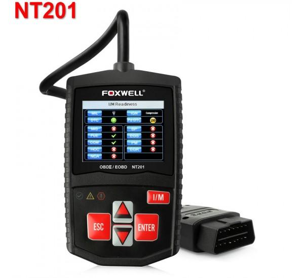 Портативный диагностический сканер FOXWELL NT201 RUS