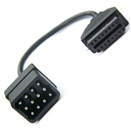 ГАЗ/УАЗ 12pin – OBDII 16pin